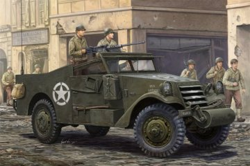 U.S. M3A1 White Scout Car · HBO 82452 ·  HobbyBoss · 1:35