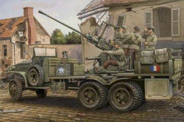 GMC Bofors 40mm Gun · HBO 82459 ·  HobbyBoss · 1:35