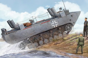 German Land-Wasser-Schlepper II-Upgraded · HBO 82462 ·  HobbyBoss · 1:35