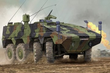 German Boxer MRAV · HBO 82480 ·  HobbyBoss · 1:35