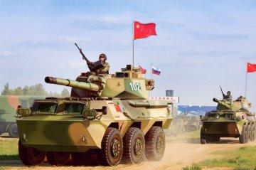 PLA PTL02 Wheeled Tank Destroyer · HBO 82485 ·  HobbyBoss · 1:35