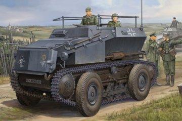 German Sd.Kfz.254 Tracked Armoured car · HBO 82491 ·  HobbyBoss · 1:35