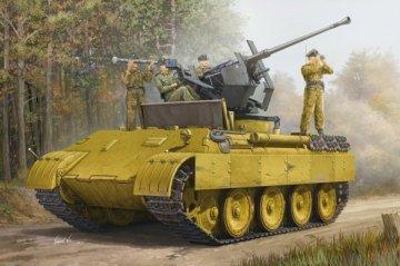 German Panther Ausf.D Flak Bergepanther · HBO 82492 ·  HobbyBoss · 1:35