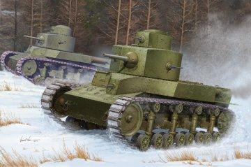 Soviet T-24 Medium Tank · HBO 82493 ·  HobbyBoss · 1:35