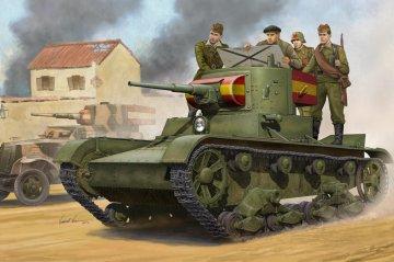 Soviet T-26 Light Infantry Tank Mod.1935 · HBO 82496 ·  HobbyBoss · 1:35