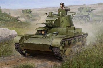Soviet T-26 Light Infantry Tank Mod 1938 · HBO 82497 ·  HobbyBoss · 1:35