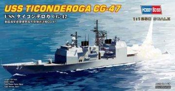 USS TICONDEROGA CG-47 · HBO 82501 ·  HobbyBoss · 1:1250
