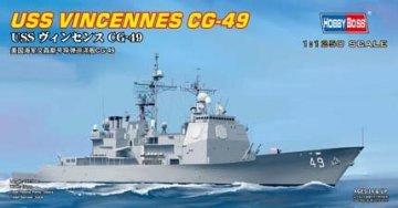 USS VINCENNES CG-49 · HBO 82502 ·  HobbyBoss · 1:1250