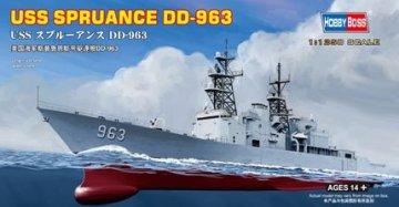 USS Spruance DD-963 · HBO 82504 ·  HobbyBoss · 1:1250