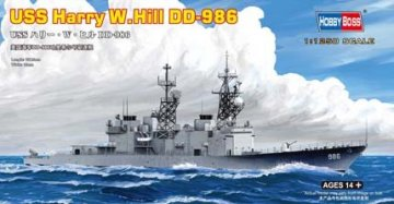 USS Harry  W. Hill D-986 · HBO 82506 ·  HobbyBoss · 1:1250