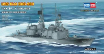 USS Kidd DDG-993 · HBO 82507 ·  HobbyBoss · 1:1250