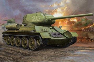 WWII Soviet T34/85 · HBO 82602 ·  HobbyBoss · 1:16