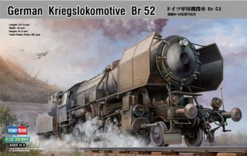 German Kriegslokomotive  BR-52 · HBO 82901 ·  HobbyBoss · 1:72