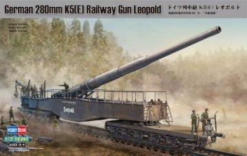 German 280mm K5(E) Railway Gun Leopold · HBO 82903 ·  HobbyBoss · 1:72