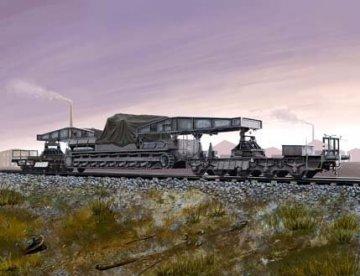 German Rail Transporter für Karl-Gerät · HBO 82906 ·  HobbyBoss · 1:72
