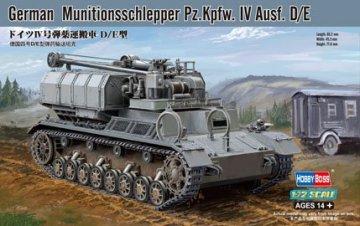 German Munitionsschlepper Pz.Kpfw. IV Ausf. D/E · HBO 82907 ·  HobbyBoss · 1:72