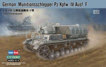 German Munitionsschlepper Pz.Kpfw. IV Ausf. F · HBO 82908 ·  HobbyBoss · 1:72