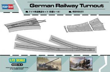German Railway Turnout · HBO 82909 ·  HobbyBoss · 1:72