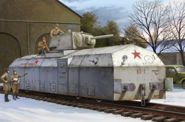 Soviet Armoured Train · HBO 82912 ·  HobbyBoss · 1:72