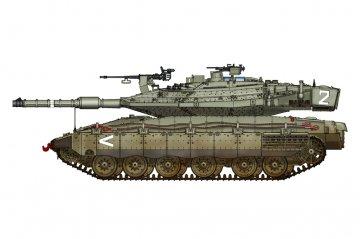 Israeli Merkava Mk IV · HBO 82915 ·  HobbyBoss · 1:72
