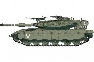 IDF Merkava Mk.IIID(LIC) · HBO 82917 ·  HobbyBoss · 1:72