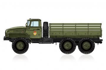 Russian URAL-4320 Truck · HBO 82930 ·  HobbyBoss · 1:72