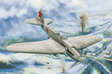 IL-2 Ground attack aircraft · HBO 83201 ·  HobbyBoss · 1:32