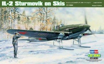 IL-2 Sturmovik on Skis · HBO 83202 ·  HobbyBoss · 1:32