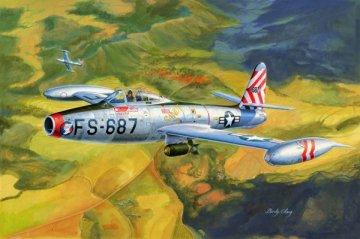 F-84E Thunderjet · HBO 83207 ·  HobbyBoss · 1:32