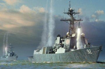 USS Momsen DDG-92 · HBO 83413 ·  HobbyBoss · 1:700