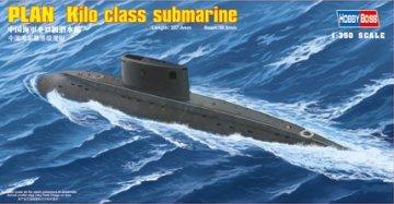 PLAN Kilo class submarine · HBO 83501 ·  HobbyBoss · 1:350