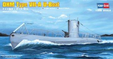 DKM Navy Type VII-A U-Boat · HBO 83503 ·  HobbyBoss · 1:350