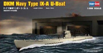 DKM Navy Type IX-A U-Boat · HBO 83506 ·  HobbyBoss · 1:350