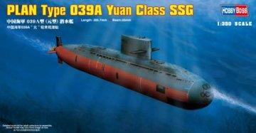 PLAN Type 039A Yuan Class Submarine · HBO 83510 ·  HobbyBoss · 1:350