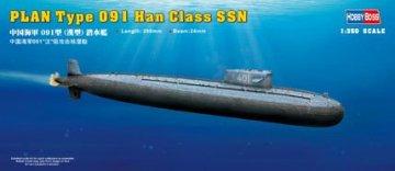 PLAN Type 091 Han Class Submarine · HBO 83512 ·  HobbyBoss · 1:350