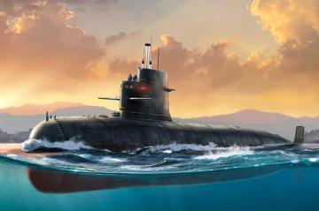 PLA Navy Type 039 Song Class · HBO 83518 ·  HobbyBoss · 1:350