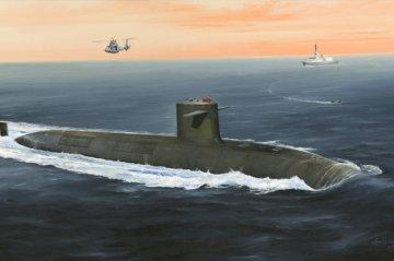 French Navy Le Triomphant SSBN · HBO 83519 ·  HobbyBoss · 1:350