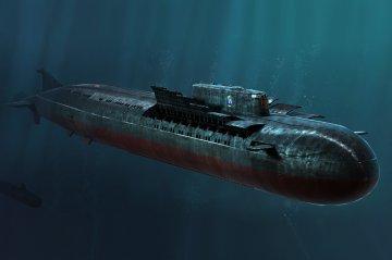 Russian Navy SSGN Oscar II Class Kursk · HBO 83521 ·  HobbyBoss · 1:350