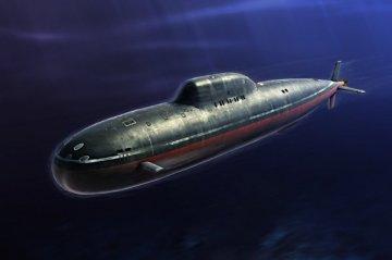 Russian Navy Alfa Class SSN · HBO 83528 ·  HobbyBoss · 1:350