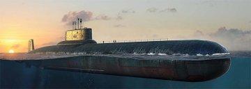 Russian Navy Typhoon Class SSBN · HBO 83532 ·  HobbyBoss · 1:350