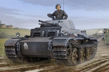 German Pzkpfw.II Ausf.J (VK1601) · HBO 83803 ·  HobbyBoss · 1:35