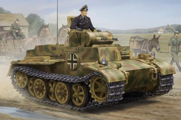German Pzkpfw.I Ausf.F (VK1801)-Late · HBO 83805 ·  HobbyBoss · 1:35