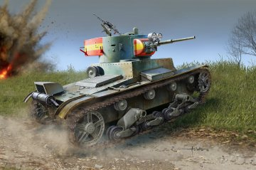 Soviet T-26 Light Infantry Tank Mod.1936 · HBO 83810 ·  HobbyBoss · 1:35