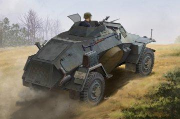 German Sd.Kfz.221 Leichter Panzerspahwagen · HBO 83811 ·  HobbyBoss · 1:35