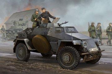 German Sd.Kfz.221 Leichter Panzerspähwagen · HBO 83812 ·  HobbyBoss · 1:35
