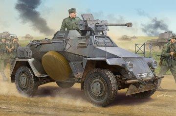 German Le.Pz.Sp.Wg (Sd.Kfz.221) Panzerwagen · HBO 83813 ·  HobbyBoss · 1:35