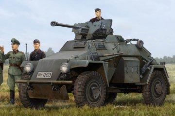 German Le.Pz.Sp.Wg (Sd.Kfz.221) Leichter Panzerspähwagen-Late · HBO 83814 ·  HobbyBoss · 1:35