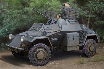 German Sd.Kfz.222 Leichter Panzerspaehwagen · HBO 83815 ·  HobbyBoss · 1:35