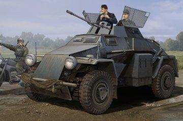 German Sd.Kfz.222 Leichter Panzerwagen · HBO 83816 ·  HobbyBoss · 1:35