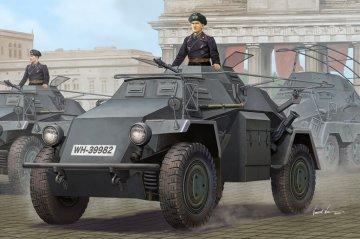 German Sd.KFZ.223 Leichter Panzerspähwagen (1ST Series) · HBO 83817 ·  HobbyBoss · 1:35